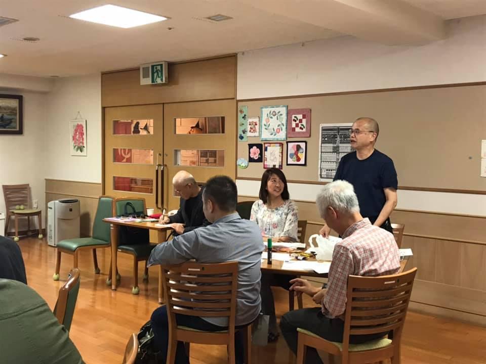 おはようトラベル野村国康さん:いなぎコミュニティビジネスクラブ創発カフェ