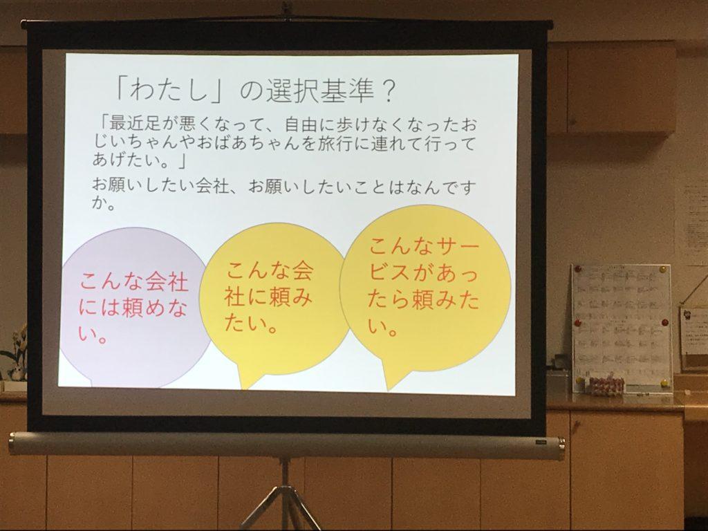 野村国康さんプレゼンいなぎコミュニティビジネスクラブ