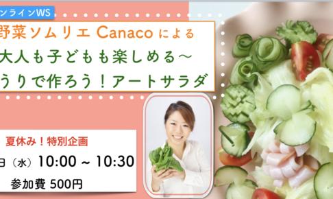 野菜ソムリエCanaco アートサラダ
